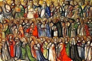 all saints, christian, holy
